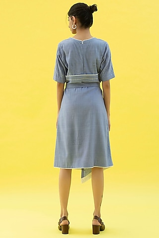 Tradewind Blue Dress by Label Meesa