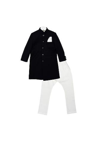 Black & White Jacket Set by Little Stars