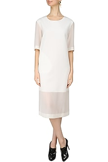 White Midi Dress by Lovebirds