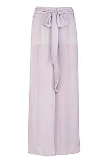 Lavender Wide Leg Pants by Meadow