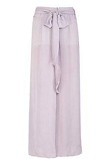 Lavender Wide Leg Pants by Meadow