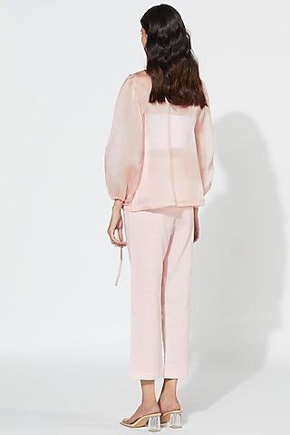 Blush Pink Jacket Set by Meadow