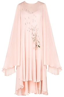 Blossom Pink Kaftan Dress by Meadow