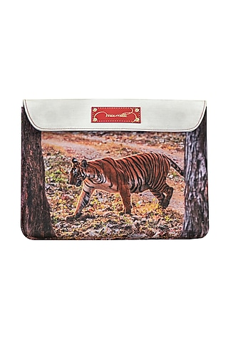 Multi Colored Digital Printed Laptop Case by Mixmitti