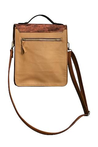 Multi Colored Jungle Printed Handbag by Mixmitti