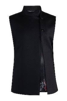 Black Knitted Bundi Jacket by More Mischief