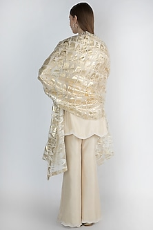 Ivory Embroidered Tunic Set by Masaba