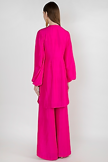 Pink Embroidered Tunic Set by Masaba