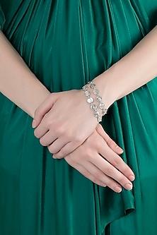 Silver Finish Seven Kingdoms Bracelet by Masaba X GOT