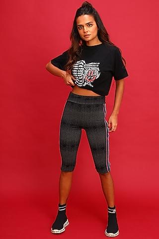 Black Biker Shorts by Myriad