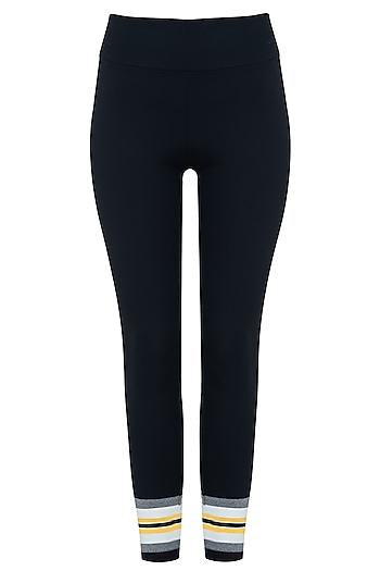 Black and white leggings pants by Myriad