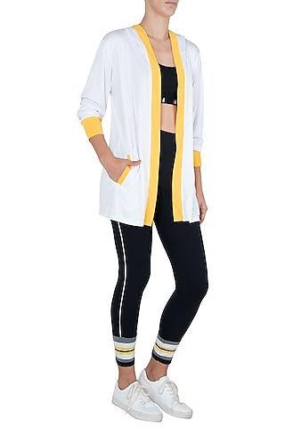 White wrestler jacket by Myriad