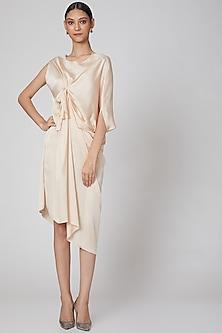 Blush Pink Asymmetric Dress by Na-Ka
