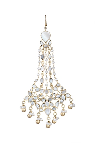 Gold Plated Mother Of Pearl Passa by Noorah By J