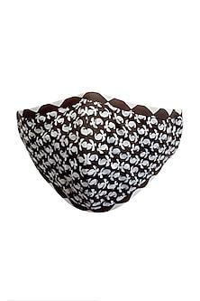 Black & White 3 Ply Mask & Pouch by Nikita Mhaisalkar