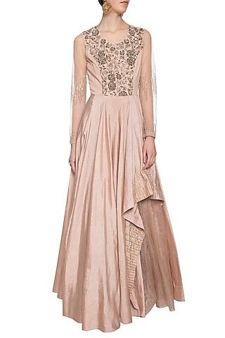 Coco embroidered gown by Shikha and Nitika