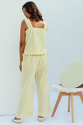 Vanilla Boxy Cotton Dress by Nesolo