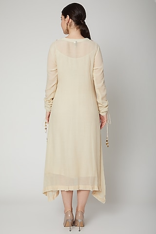 A-Line Kaftan Dress by Nadima Saqib