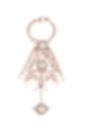 Rose Gold Plated Swarovski Hand Harness by Outhouse