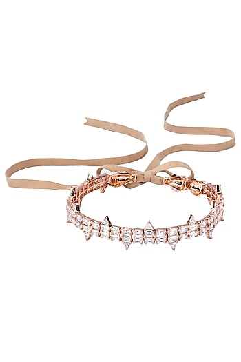 Lily White Choker by Outhouse