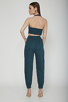 Teal Green Jogger Pants by Our.Love