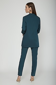 Teal Green Formal Trouser Pants by Our.Love