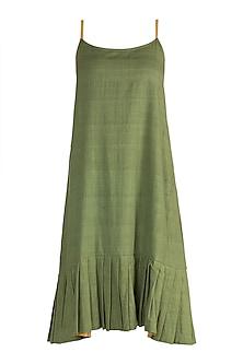 Emerald Green Slip Dress by Ori