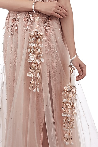 Rose Gold Finish Hand Harness by Outhouse