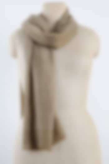 Beige Scarf In Cashmere by Pashma
