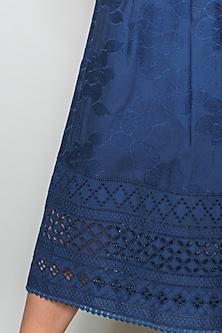 Blue Culotte Pants by Payal Jain
