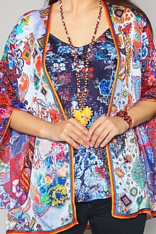 Multi Colored Cape by Payal Jain