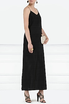 Black maxi dress by PABLE