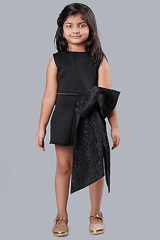 Black Mini Skirt Set by Pink Cow