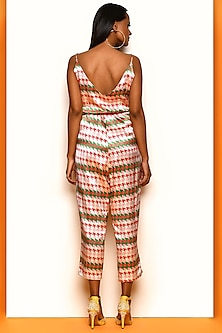 Multi Colored Printed Jumpsuit by Papa Don't Preach by Shubhika