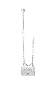 Silver Chain Belt Bag by Papa Don't Preach by Shubhika