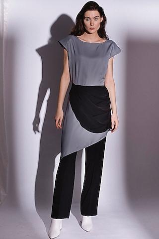 Black Suiting Trouser by Priyanka Gangwal