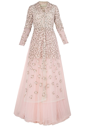 Pink French Knot Gown by Peppermint Diva