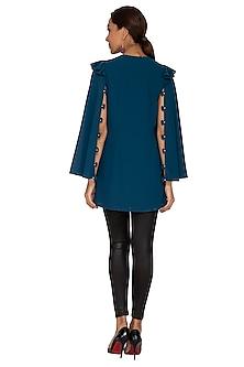 Jacket Style Embroidered Tunic by Prerana Nagpal