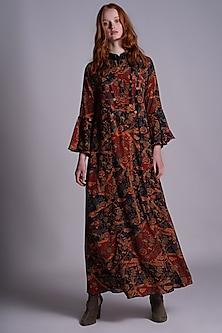 Multi Colored Printed Dress by Pinnacle By Shruti Sancheti