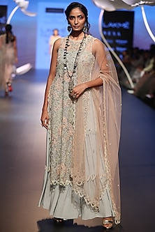 Off White Sharara Set by Payal Singhal