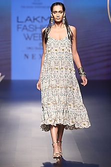 Stone Embroidered Dress by Payal Singhal