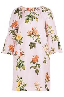 Pink Printed Dress by Payal Pratap