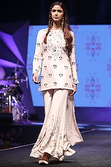 Stone Embroidered Sharara Set by Payal Singhal