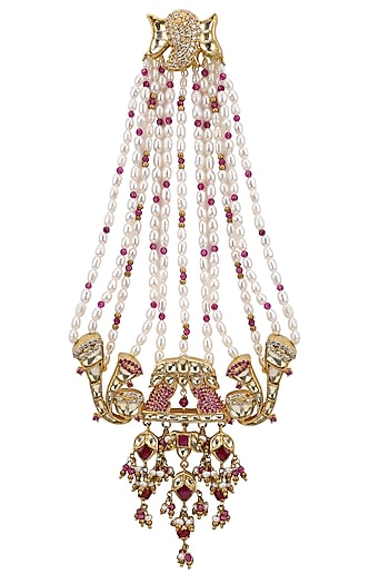 Gold Plated Royal Elephant Motif Passa by Raabta