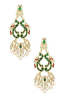 Jadao Mayur Earring by Raabta