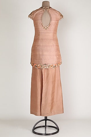Nude Kurta With Pants by Renee Label