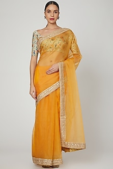 Mango Embroidered Saree Set by Renee Label