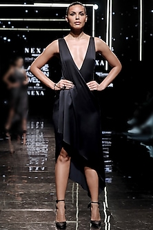 Sterling Overlap Dress by Rohit Gandhi & Rahul Khanna