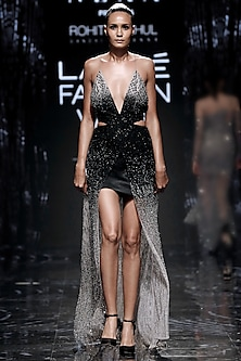 Crystalline Moondusk Dress by Rohit Gandhi & Rahul Khanna