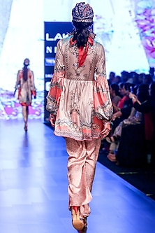 Blush Pink Boho Tunic by Rajdeep Ranawat